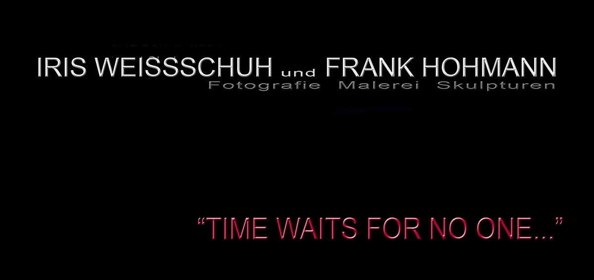 Ausstellung Time waits for no one